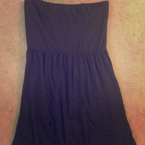 VS Bra Top Strapless Skater Dress